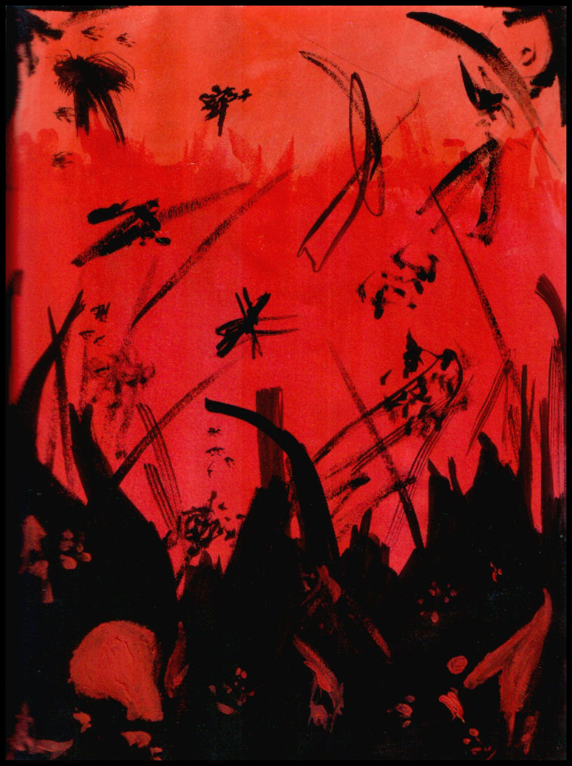 Anger Red Painting