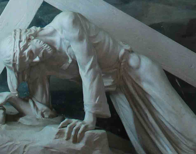 Meditations on the third station of the cross | Jesus falls...