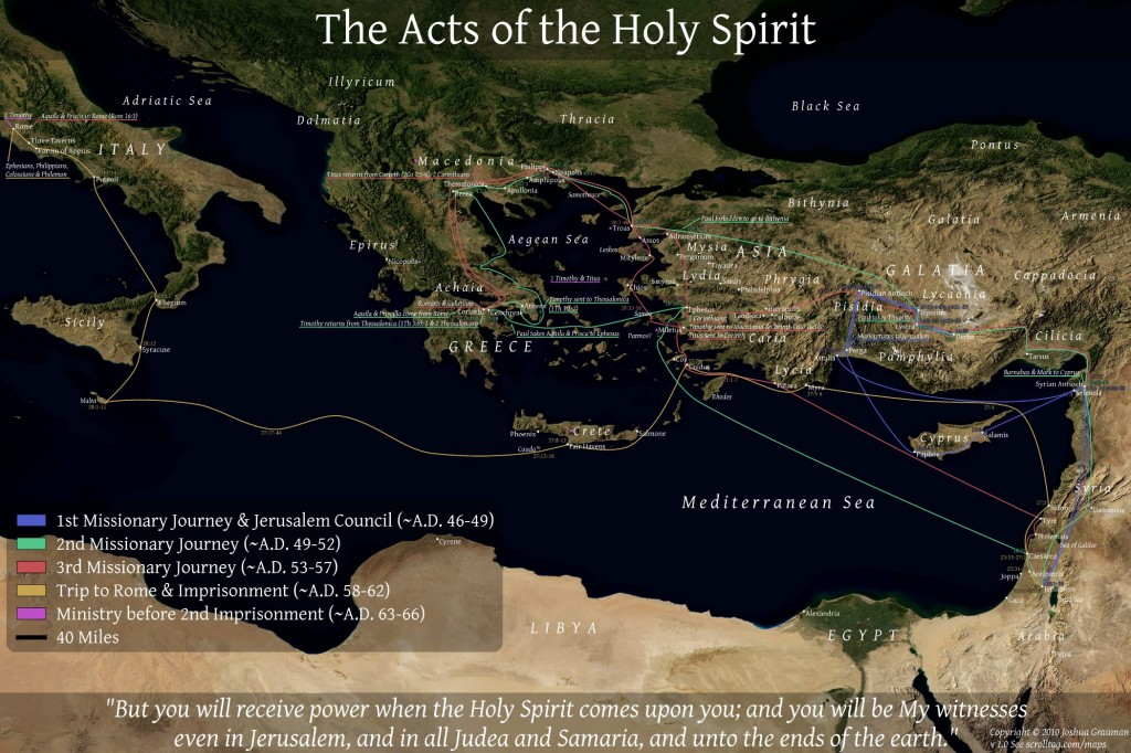 """dating pauls missionary journeys Journeys and letters of paul  where paul started his first missionary journey and where the term """"christian"""" was first associated with the followers of jesus."""